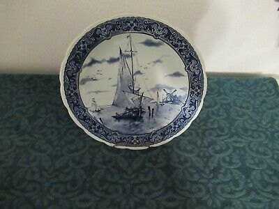 $90 • Buy Royal Sphinx Maastricht Delfts Made Holland12'' Wall Charger Plate Sail Boat