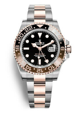 $ CDN23755.43 • Buy Rolex GMT-Master II Root Beer 126711CHNR Automatic 18k Everose & Oystersteel Wat