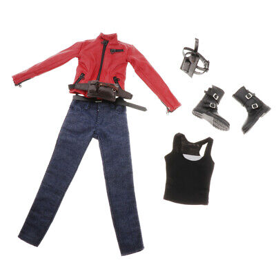 $61.56 • Buy 1/6 Scale Biker Girl Outfit For Enterbay Woman Figures Accessories Parts