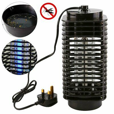 Electric Mosquitos Killer Insect Zapper Grill Fly Bug Trap Catcher Lamp UV Light • 7.99£