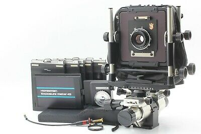 【Excllent+5】WISTA M450 4X5 + Fujinon W 105mm F5.6 + Film Holder From Japan #330 • 620.63£