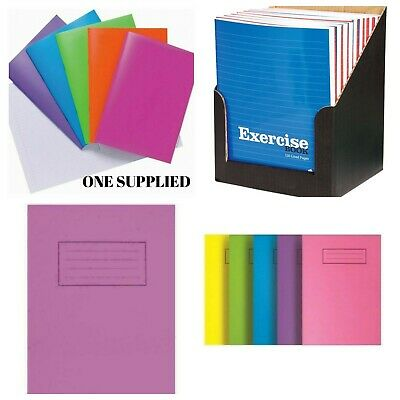 Silvine A4 A5 Exercise Books 80 Pages School Notebooks Class Children Homework • 2.99£