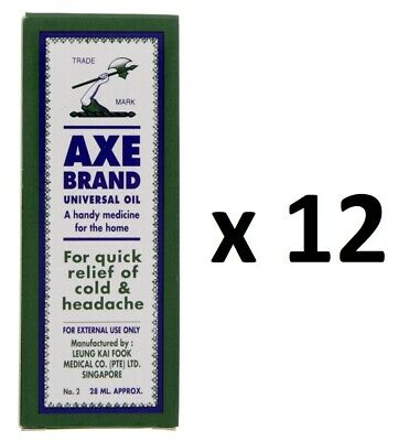 $52.99 • Buy ( Pack Of 10 ) Axe Brand Universal Medicated Oil ~ 28ml ~ 7-14 Days Arrive !!!