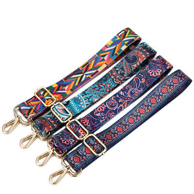 $11.79 • Buy Ethnic Shoulder Bag Belt Strap Crossbody Adjustable Replacement Handbag Belt