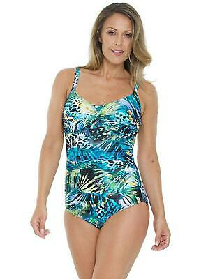 Seaspray Monteverde Twist Cup Swimsuit 13-2345 Non Wired Padded Swimming Costume • 34.95£