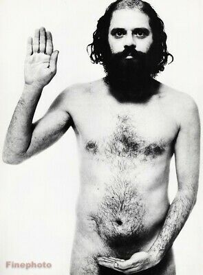 $187.16 • Buy 1964 Nude ALLEN GINSBERG Poet By RICHARD AVEDON Beat Gen Writer Photo Art 16x20