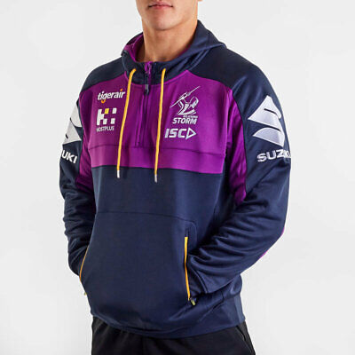 £52.96 • Buy Melbourne Storm NRL 2020 Players ISC Squad Hoody Hoodie Sizes S-5XL!