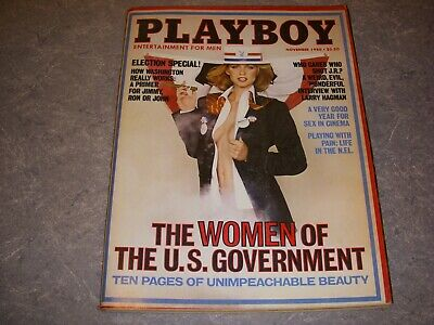 $ CDN18.32 • Buy PLAYBOY Magazine, NOVEMBER 1980, WOMEN OF THE U.S. GOVERNMENT, JEANA TOMASINO!