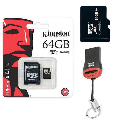 AU35.11 • Buy Original Memory Card Kingston Micro SD Card 64GB For Oneplus 5T 4G