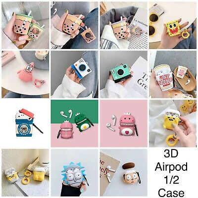 AU11.80 • Buy Apple AirPods 1 Or 2 3D Silicone Case Protective Cover Cute Game Designer Case
