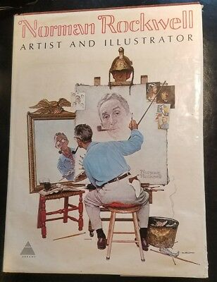$ CDN51.05 • Buy FREE SHIPPING! 1st Edition! Norman Rockwell Artist And Illustrator Book LARGE