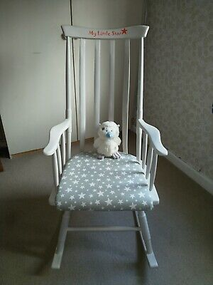 Upcycled Nursery Rocking Chair • 100£