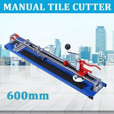 600mm Manual Tile Cutter Tile Cutting Tool For Large Tiles 8-12mm Thick Tool • 32.39£