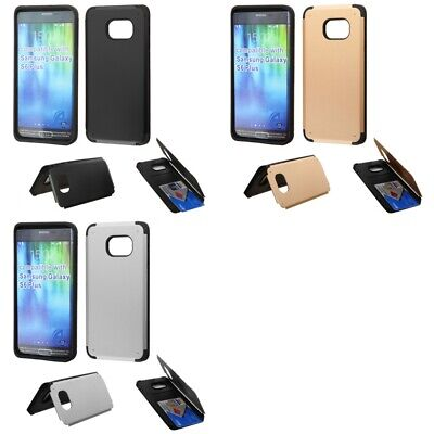 $ CDN9.99 • Buy Samsung Galaxy S6 Edge Plus Credit Card Hidden Compartment Case Cover