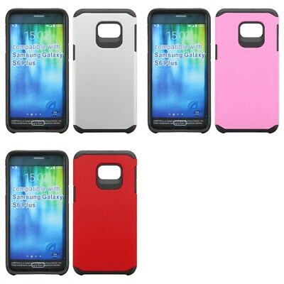 $ CDN8.92 • Buy Samsung Galaxy S6 Edge Plus Shockproof Armor 2-Piece Case Cover Hybrid