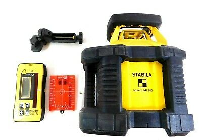 Stabila Fully Auto Self Leveling Rotate Laser With Carrying Case LAR200-05510 • 709.88£