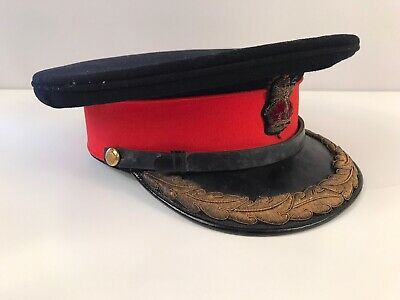 WW1 British Army Colonel Senior Staff Officer Peak Uniform Service Cap • 195£