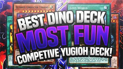 AU480 • Buy Best Dinosaur Deck!!! Most Fun Yu-gi-oh Deck Of All Time?? Conductor Tyranno Can