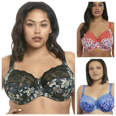 Elomi Morgan Full Cup Bra 4110 Underwired Non-Padded Supportive Bra Womens Bras • 34.95£