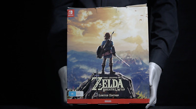 AU379.05 • Buy Zelda Breath Of The Wild Limited Edition Switch Boxed - 'The Masked Man'
