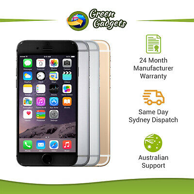 AU399 • Buy Apple IPhone 6 Plus Brand New - Space Grey Silver Gold 16 64 128GB