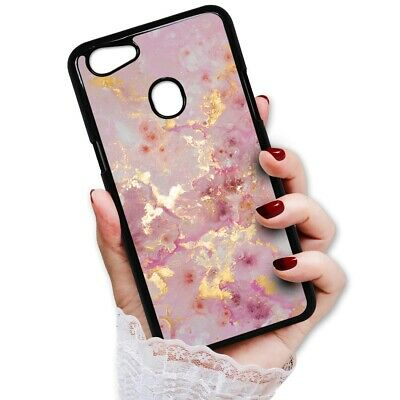 AU9.99 • Buy ( For Oppo A73 ) Back Case Cover PB12891 Pink Crystal Marble