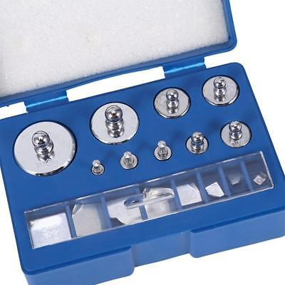 17pcs 211.1g 10mg-100g Grams Precision Calibration Weight Test Jewelry Scale Kit • 7.11£