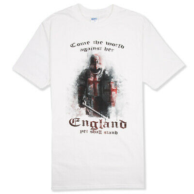 ENGLAND T-SHIRT WARRIOR YET WE STAND - Cross Of St George, St George's Day, Flag • 15£