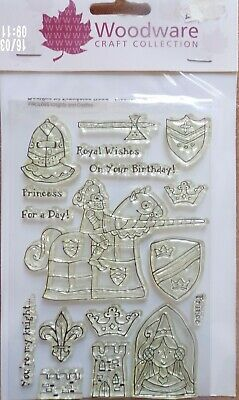 Woodware Clear Stamp Set Francoise Read Designs  - Only £1.50 Plus Postage • 1.50£
