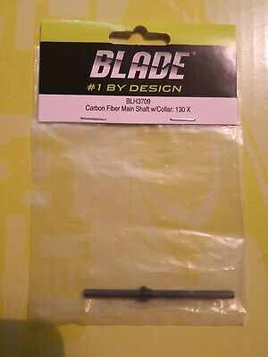 Blade 130x Carbon Main Shaft With Collar BLH3709 • 7.11£