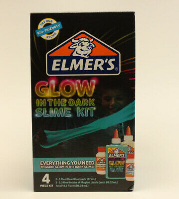 AU10.30 • Buy Elmer's Glue Glow In The Dark Slime Kit In Blue