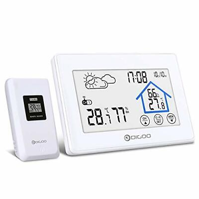 $31.32 • Buy Weather Stations Wireless Indoor Outdoor Thermometer Digital Hygrometer