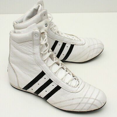 $ CDN40 • Buy Adidas Prajna High Boxing Shoes US 7.5 White Sneaker Workout Trainers