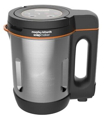 Morphy Richards 501021 Compact Soup Maker Blender Stainless Steel 1 Litre 1000W • 42.99£