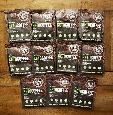 $39.95 • Buy It Works! Keto Coffee 11 Packets MCT Oil, Grass-fed Butter & Collagen NEW!