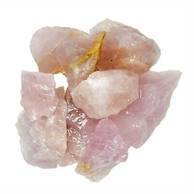 $72.99 • Buy 18 Lb Lavender Rose Quartz Rough Stones - Healing Crystals Craft Rocks Reiki