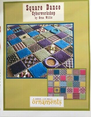 $29.95 • Buy Square Dance Needlepoint Counted Thread Orna Willis CYBERWORKSHOP