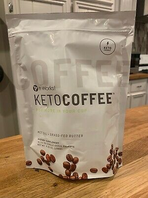 $39.50 • Buy Brand New It Works Keto Coffee 15 Packets