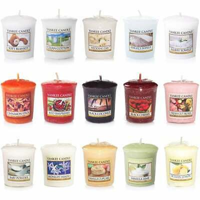 Yankee Candle Votive Sampler Scented Candles - Choose A Scent From Menu • 1.99£