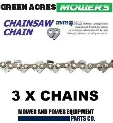 AU53.50 • Buy 3 X CHAINSAW CHAIN FITS 20  BAR STIHL 72DL 3/8 063 SEMI CHISEL 066 MS660 034 038