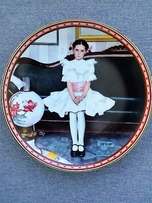 $ CDN7.89 • Buy Norman Rockwell - Sitting Pretty - 1986 Collector Plate