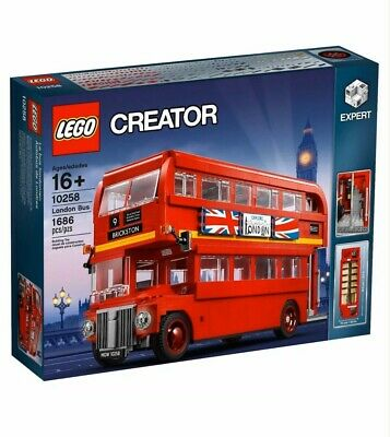$ CDN318.96 • Buy LEGO CREATOR London Bus Set 10258 Double Decker Exclusive Expert NEW SEALED HTF