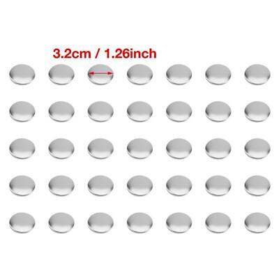 £57.70 • Buy 1000pcs 32mm DIY Blank Pin Badge Button Parts Consumables For Button Maker