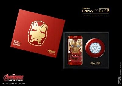 $ CDN4900.80 • Buy Samsung Galaxy S6 Edge Iron Man Limited Edition #15 Marvel Avengers + Suitcase!!