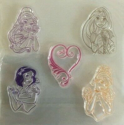 Clear Stamps For Card-making/scrap-booking Princesses • 4.99£