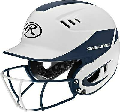 $56.83 • Buy Rawlings Velo 2-Tone Matte Junior Softball Helmet With Faceguard Attached, New