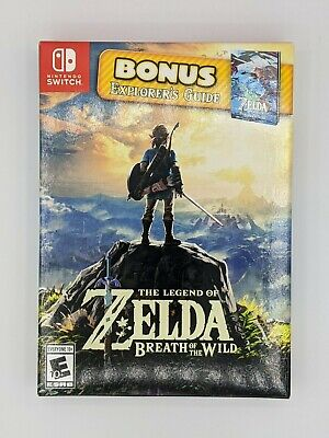 $129.95 • Buy Legend Of Zelda Breath Of The Wild Explorer's Guide Limited Edition Switch NEW