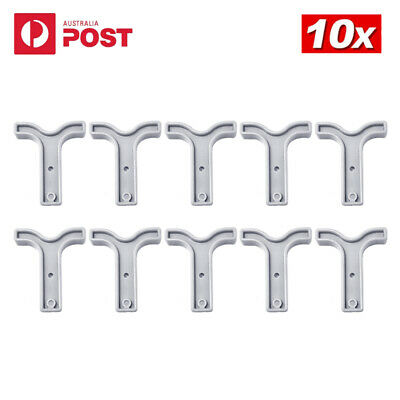 AU13.99 • Buy 10x Grey T Bar Handle For Anderson Style Plug Connectors Tool 50AMP 12-24v 6AWG
