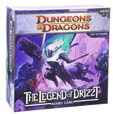 AU95 • Buy Dungeons & Dragons The Legend Of Drizzt Board Game D&D - Fast And Free Shipping