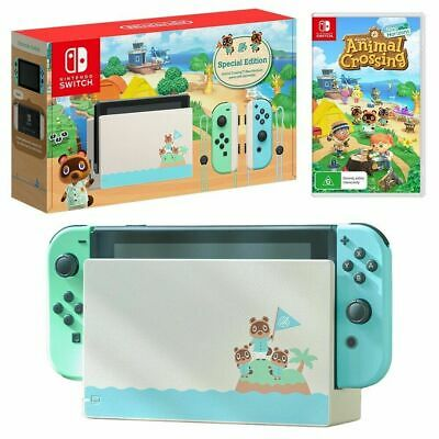 $ CDN1678.06 • Buy Nintendo Switch Animal Crossing: New Horizons Limited Edition Console W/ GAME!